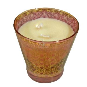 Soya Wax Aroma Glass Candle