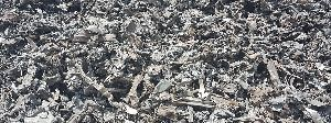 Shredded Metal Scrap