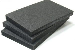 Black Pu Foam Sheet