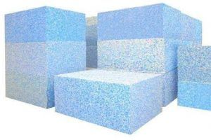 Blue Bonded Foam Sheet