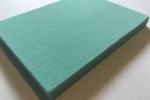 Green Pu Foam Sheet