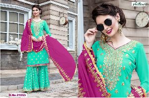 21003 Phillauri Vol - 8 Fox Georgette Dress