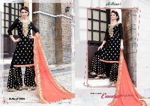 21005 Phillauri Vol - 8 Fox Georgette Dress