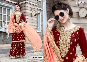 21006 Phillauri Vol - 8 Fox Georgette Dress