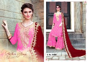 21008 Phillauri Vol - 8 Fox Georgette Dress