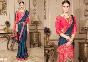 Heavy Work Blouse Sarees