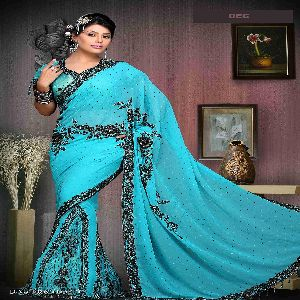 Printed Casual Wear Indian Saree