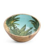 Mango Wood Small Salad Bowl