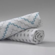 Custom Premium Soft 100% Cotton Muslin Swaddle Blankets