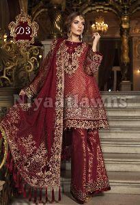 Designer Ladies Plazo Suit