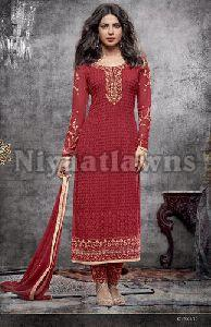 Heavy Classic Georgette Semi Stitched Ladies Suit