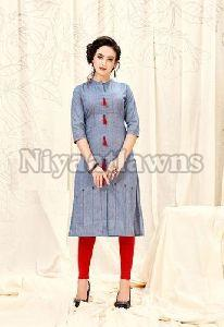 Ladies Jacket Style Kurti