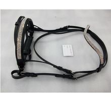 Bridle With Crystal Brow Band For Horses