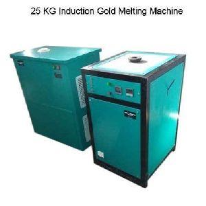 25 Kg Induction Gold Melting Machine