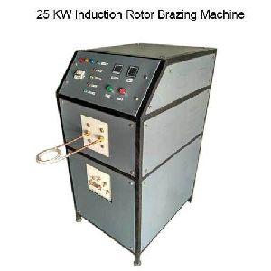 25 Kw Induction Rotor Brazing Machine