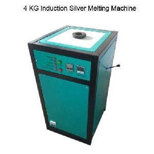 4 Kg Induction Silver Melting Machine