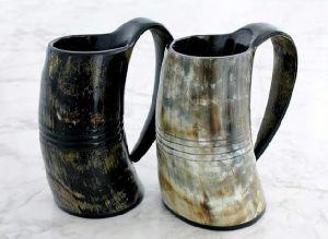 Horn Mugs