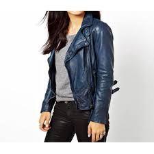 Ladies Designer Leather Jacket