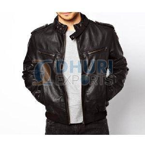 Mens Stylish Leather Jacket