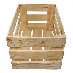 Vegetable Wooden Box