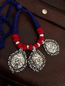 Handmade Oxidized Ethnic Necklace