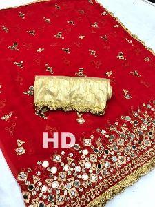 Ladies Antique Silk Saree
