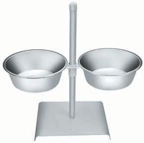 Adjustable Double Dinner Bowl