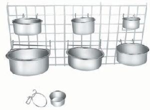 Stainless Steel Coop Cup With Wire Hanger