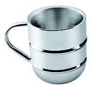 Stainless Steel Double Wall Coffee Mug