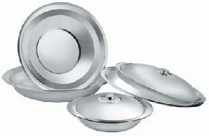 Stainless Steel Mixing Bowl With Dome Lid
