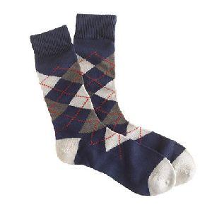 Cotton Argyle Socks