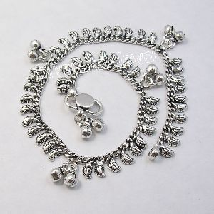 925 Sterling Silver Beautiful Handmade Anklet