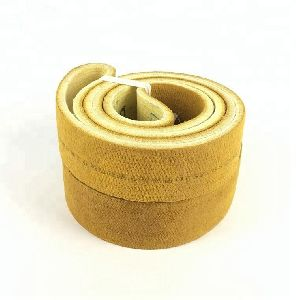 Heat Resistant Pbo 600 C Endless Felt Belt For Aluminium Extrusion