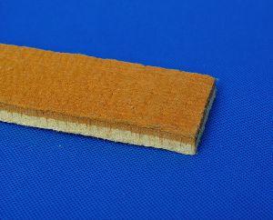 Heat Resistant Brown Pbo/Para-Aramid Pad / Strip / Felt For Aluminium Extrusion Presses Industry