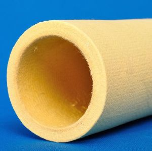 10mm Thickness Yellow Felt Roller Sleeve