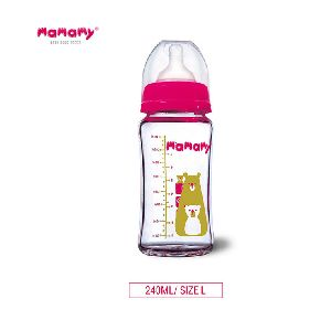 Hot Selling Portable Custom Logo Safety Baby 240ml 120ml Grade Silicone Baby Feeding Bottle To Usa