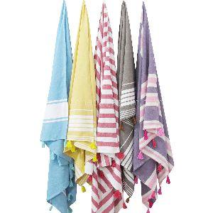 Custom Bath Towel with Tassels