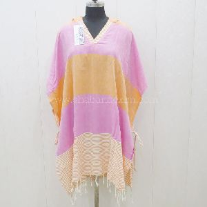 Hammam Tunisian Colorful Poncho Hoodie