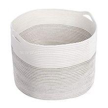 Multipurpose Cotton Picnic Basket Decorative Storage Basket