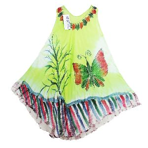 Painted Rayon Sundresses