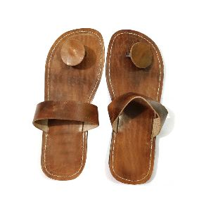 Unisex Leather Slippers