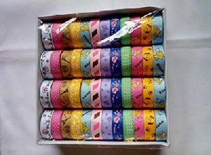 Beautiful Floroscent Coloured Creative Decorative Designer Tapes