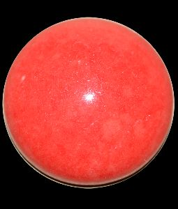 Round Red Agate