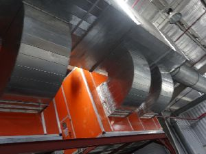 Industrial Hot Air Exhaust Ducting System