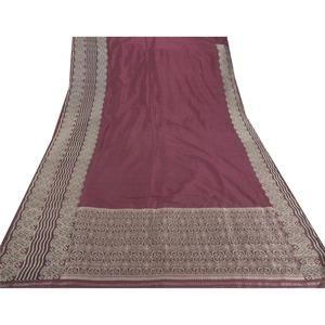 Pure Silk Fabric Banarasi Brocade Zari Sari