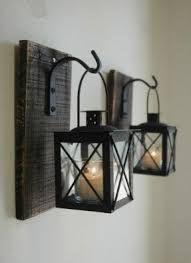 Iron Hanging Candle Holder
