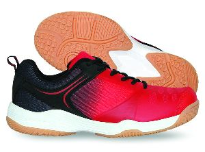 Hy Court Red Badminton Shoes