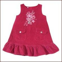 Baby Girls Ruffled Lace Tank Tops