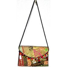 Indian Traditional College Girls Embroidery Bag