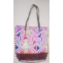 Leather Strip Fashion Bag